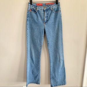 NYDJ • vintage retro tummy tuck style jeans Y2k